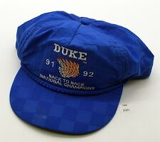 ThriftCHI ~ Vintage Duke Back to Back Champions Blue Hat '91 & '92