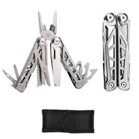 15 in 1 Multitool Zange Messer Schere Säge Taschenmesser Multifunktionswerkzeug