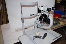 CARL ZEISS SLIT LAMP  MODEL#  F-125    (2) 16X EYE PIECES  &  STAND