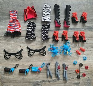 Monster High select accessories clothes shoes for doll Meowlody Purrsephone