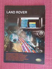 DISCOVERY 4 - RANGE ROVER SPORT -  RANGE ROVER  ENTERTAINMENT SYSTEM HANDBOOK