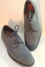 Express Casual Linen Blue-Gray Oxford Dress Shoes Men's Size 8