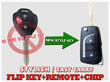 New Style Flip key 3 BUTTON remote MOZB41TG With chip G For 11-13 Scion TC FKSG
