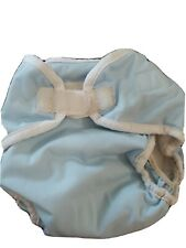 Thirsties  All In Onewith pocket baby blue size L PUL