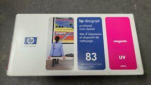HP C4962A Genuine Printhead and Cleaner HP 83 Magenta Printhead in Box 2009 Exp.