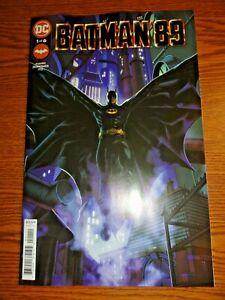 Batman '89 #1 Hot Key Quinones A Cover NM Michael Keaton Movie Flash Point DC