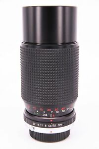 SUPER ALBINAR 80-200 f/4.5 lens for Olympus OM PARTS ONLY
