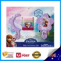 Disney Frozen Beauty Girl Accessory Comb Mirror Hair Bands Elsa Anna Olaf Toy AU