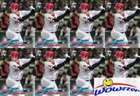 (20) 2018 Topps Shohei Ohtani FIRST PRINTED TOPPS ROOKIE CARDS w/RC Logo Angels
