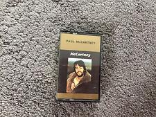 More details for paul mccartney rare 1st issue mccartney' cassette tape 1970