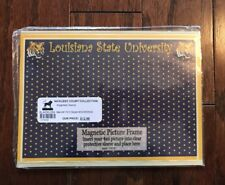"""LOUISIANA STATE UNIVERSITY TIGER-Magnetic ( 4"""" x 6"""" ) Three In One Picture Frame"""