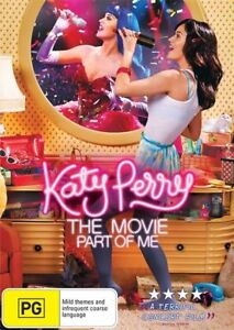Katy Perry DVD - Part Of Me - Region 4 Aust - Music
