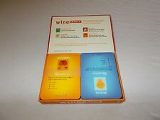 Cool Wine Smarts volume 1 question and answer learning cards game set