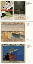 THREE  Postcards - ' POSTERS of the SOUTHAMPTON  DOCKS ' Hampshire (Wm 23 )