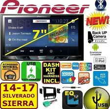 2014 - 2017 SIERRA SILVERADO PIONEER USB TOUCHSCREEN BLUETOOTH CAR RADIO STEREO