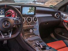 Mercedes W205 S205 C205 AMG Centro De Fibra De Fibra De Carbono CONSOLA CENTRAL C63 C63S
