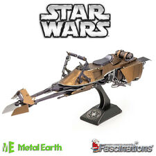 Metal Earth Star Wars Classic Speeder Bike 3D Model Kit Fascinations Official UK