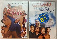 PELICULA DVD PACK DOCE EN CASA+UNA PANDILLA DE ALTURA PRECINTADAS