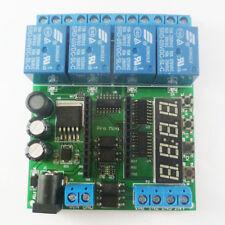 12VDC 24V 4Ch Pro mini PLC Board Relay Shield Module for Arduino diy Delay Timer