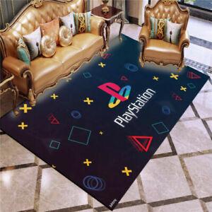 NEW 3D Gamer Playstation Console Buttons Rug Doormat Door Floor Mat Carpet Gift