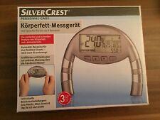 Körperfett-Messgerät Silver Crest NEU / OVP ohne Batterie