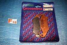 plaquette de frein Goodridge Yamaha YZ 125 250 450 F Kawasaki KX F SUZUKI RM RMZ