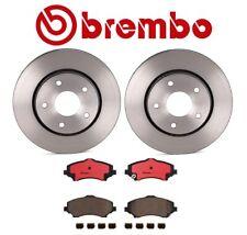 For Chrysler Dodge Ram Brembo Front Brake Kit Ceramic Pads UV Coated Disc Rotors