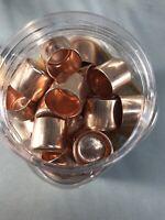 """ONE 3/4"""" Copper Cap Sweat End Copper Pipe Fitting End Cap"""