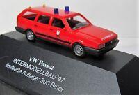 Busch 1:87 VW Passat B2 Variant OVP Feuerwehr - Intermodelbau 1997 - Auflage 500