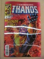 Thanos #13 Marvel 2017 Lenticular Variant 1st app Cosmic Ghost Rider 9.6 NM+