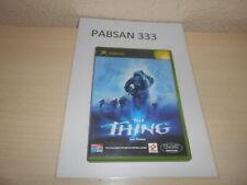 XBOX - THE THING , PAL ESPAÑOL , COMPLETO