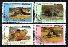 Laos 1996 Tortues (100) Yvert n° 1244A à 1244D oblitéré used