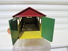 Matchbox 1957 Accessory Pack A3A Red Brown Roof Matchbox Garage No Clip Excellnt