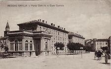 # REGGIO EMILIA: PORTA CASTELLO E CASE OPERAIE 1918