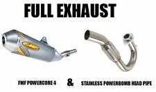 new full FMF exhaust powercore 4 muffler /& powerbomb headpipe YAMAHA WARRIOR 350