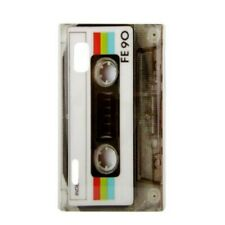 TPU Case LG E610 Optimus L5 E612 CASSETTE Musik-Kassette Back Cover