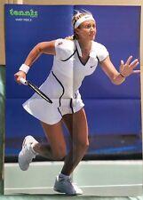 MARY PIERCE Original Vintage French Tennis Magazine Poster