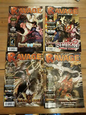 Ravage Magazine Lot Issues 1-4 CoolMiniOrNot