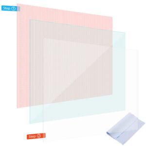 Schutzfolie für 10 - 10.1 Zoll Tablet klar Displayschutzfolie Universal Folie
