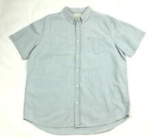 Denim & Supply Ralph Lauren Men's Sport Shirt Blue Size 2xl