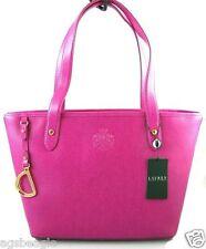 Ralph Lauren Sloan Street Shopper Pink Sapphire agsbeagle