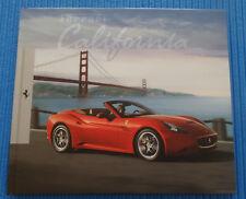 Ferrari California, Hardcover-Prospekt, 2010