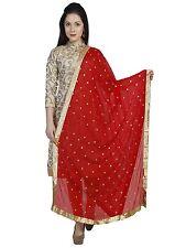 Dupatta Long Scarf Veil Party Wear Indian Pakistani Wedding Designer Stole New