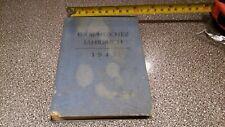 altes Buch Jahresbuch 1943 original Dachbodenfund Scheunenfund