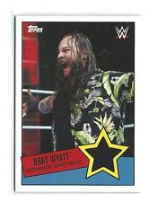2015 Topps WWE Heritage Swatch Relic  Bray Wyatt SHIRT