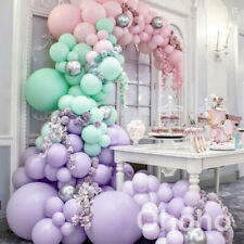 Balloons Garland Arch Kit Pastel Macaron Rainbow Baby 1st Birthday Party Wedding