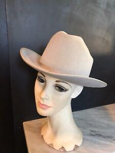 Men Men's Hat Resistol Saddler Western 6 7/8 Silver Belly X Double X Westerner