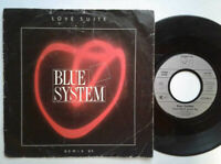 """Blue System / Love Suite 7"""" Vinyl Single 1988 mit Schutzhülle"""