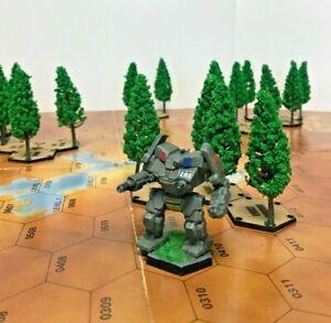 BattleTech/CityTech - Wood Hexes for Standard Battletech Map