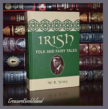 Irish Folk & Fairy Tales by William Butler Yeats Brand New Deluxe Hardcover Gift